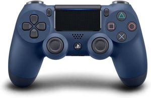 PS4 DualShock 4 Wireless Controller (Midnight Blue)