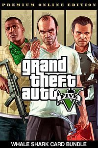 Grand Theft Auto V Premium Online Edition & Whale Shark Card Bundle (Xbox One Download)