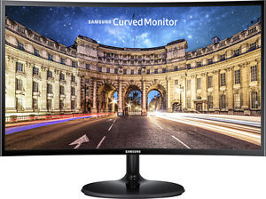 Samsung C24F390 24-inch Curved FreeSync LED Monitor
