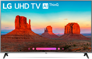 LG 55UK7700PUD 55-inch 4K HDR Smart TV with AI ThinQ