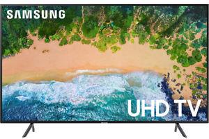 Samsung UN55NU7100 55-inch 4K HDR Smart TV + $150 eGift Card