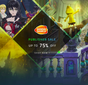 Razer Game Store: Bandai Namco Publisher Sale
