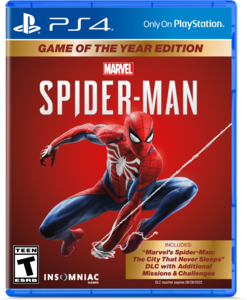 Marvel's Spider-Man GOTY Edition (PS4)