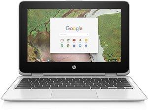 HP Chromebook x360 11-inch Celeron N3350, 4GB RAM, 32GB eMMC