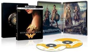 Wonder Woman 2017 Limited Edition SteelBook (4K UHD + Blu-ray + Digital)