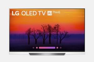 LG OLED55E8P 55-inch 4K HDR ThinQ Smart OLED TV (E8 Series) - Price in Cart
