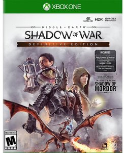 Middle-Earth: Shadow of War Definitive Edition (Xbox One Download) - Gold Required