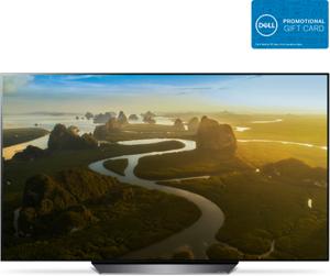 LG OLED65B8PUA 65-inch 4K HDR AI Smart OLED TV (B8 Series) + $300 Dell eGift Card