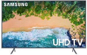 Samsung UN65NU7200 65-inch 4K HDR Smart TV + $20 VUDU Credit