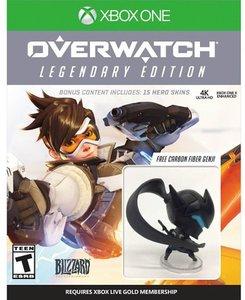 Overwatch Legendary Edition (Xbox One) + Genji Figurine