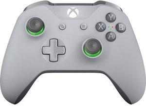 Xbox One Wireless Controller (Gray/Green)