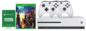 Xbox One S 1TB Console + Kingdom Hearts III + Extra Controller + 3 Months Live Gold + $75 Kohl's Cash