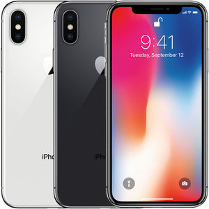 Apple iPhone X 256GB Factory Unlocked (Refurbished)