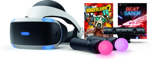 PlayStation VR Borderlands 2 + Beat Saber Bundle