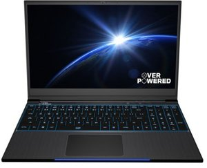 OVERPOWERED Gaming 15+ Laptop, Core i7-8750H, GeForce GTX 1060, 1080p 144Hz, 16GB RAM, 256 SSD + 2TB HDD
