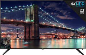 TCL 65R617 65-inch 4K HDR Roku Smart LED TV (6 Series)