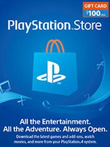 $100 PSN Store Credit (PS4 Download)