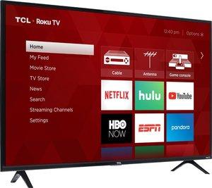 TCL 49S325 49-inch 1080p Roku Smart LED HDTV