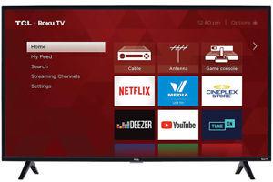 TCL 40S325 40-inch 1080p Roku Smart LED HDTV