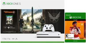 Xbox One S 1TB The Division 2 Bundle + Madden NFL 20
