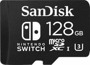 SanDisk 128GB microSDXC Memory Card for Nintendo Switch