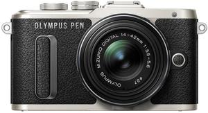 Olympus PEN E-PL8 16MP Mirrorless Camera + 14-42mm Lens