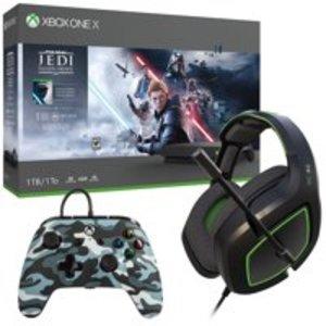 Xbox One X 1TB Jedi: Fallen Order Bundle + Free 1 Month Game Pass Ultimate