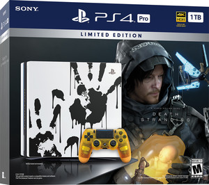 PlayStation 4 Pro 1TB Death Stranding Bundle