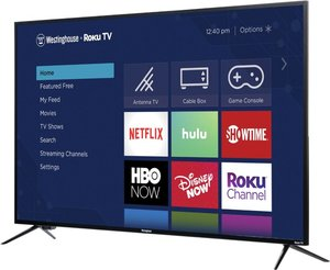 Westinghouse WR58UX4019 58-inch 4K HDR Roku Smart LED TV