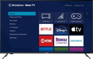 Westinghouse WR65UX4019 65-inch 4K HDR Roku Smart LED TV (UX Series)