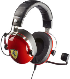 Thrustmaster T.Racing Scuderia Ferrari Edition Headpones