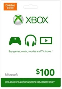 $100 Xbox Gift Card (Digital Code)
