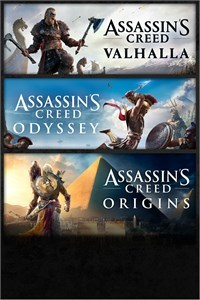 Assassin's Creed Bundle: Valhalla + Odyssey + Origins (Xbox One Download)
