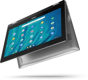 "Acer Spin 311 11.6"" Chromebook, MediaTek MT8183C, 4GB RAM, 32GB eMMC Storage"