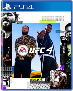 UFC 4 (PS4) - Pre-owned