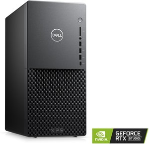 Dell XPS Tower Special Edition, Core i7-10700, GeForce RTX 2060, 16GB RAM, 256GB SSD + 2TB HDD