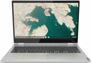 Lenovo C340-15 2-in-1 Chromebook, Core i3-8130U, 4GB RAM, 64GB eMMC