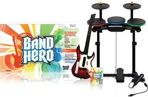 Band Hero featuring Taylor Swift - Super Bundle (Wii)